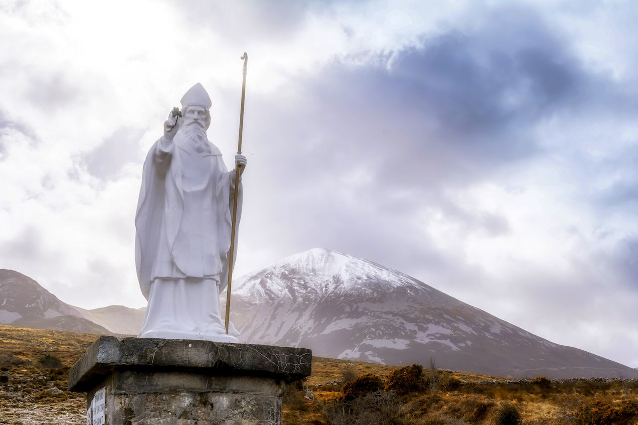 Hiking the Croagh Patrick pilgrimage