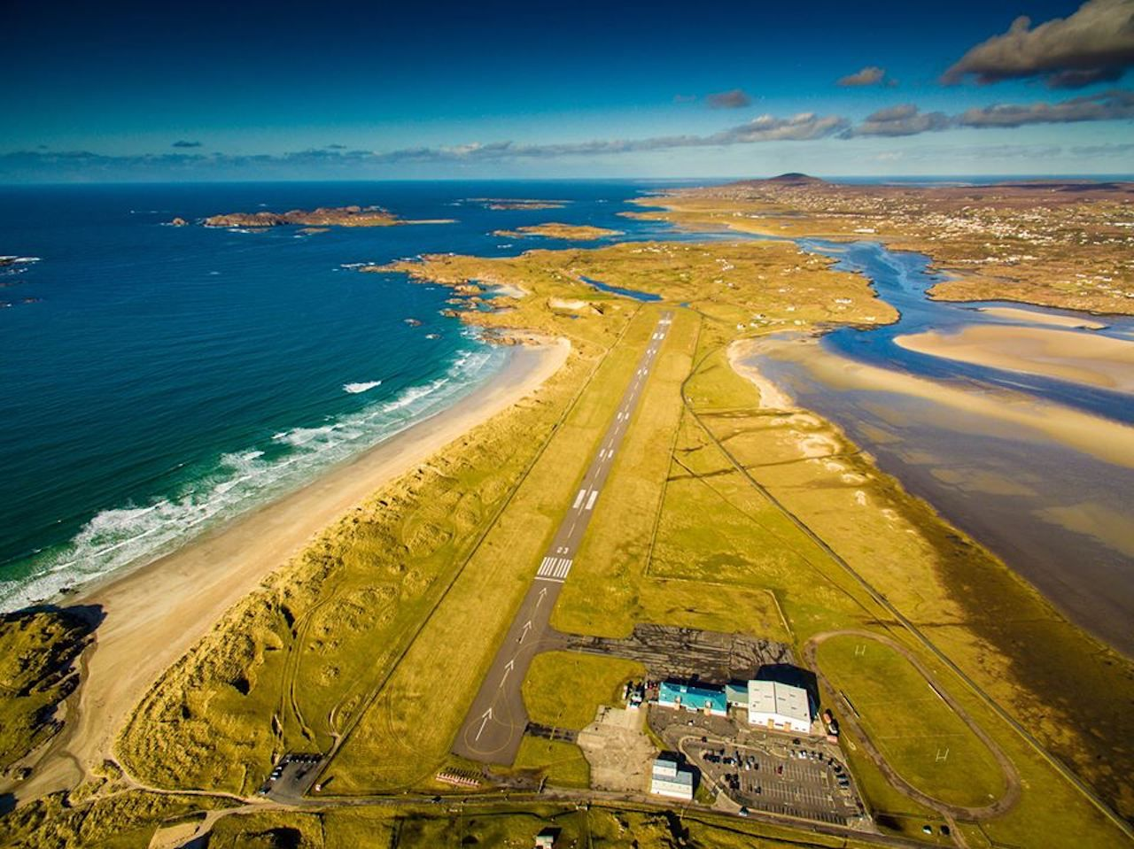 Most scenic airport named