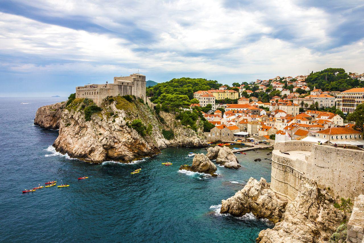 Dubrovnik ancient fortress, Croatia