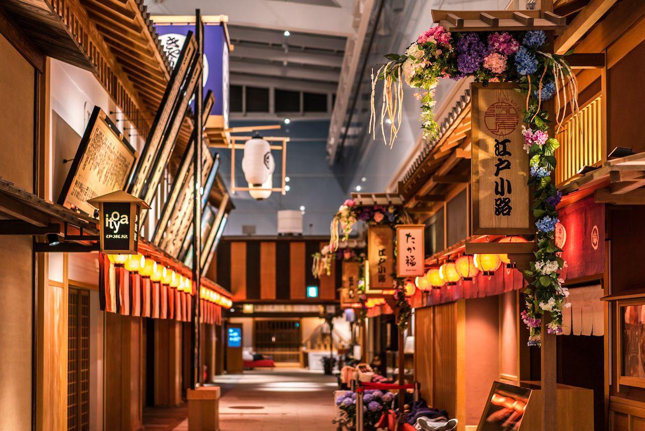 Edo Market Place in Tokyo