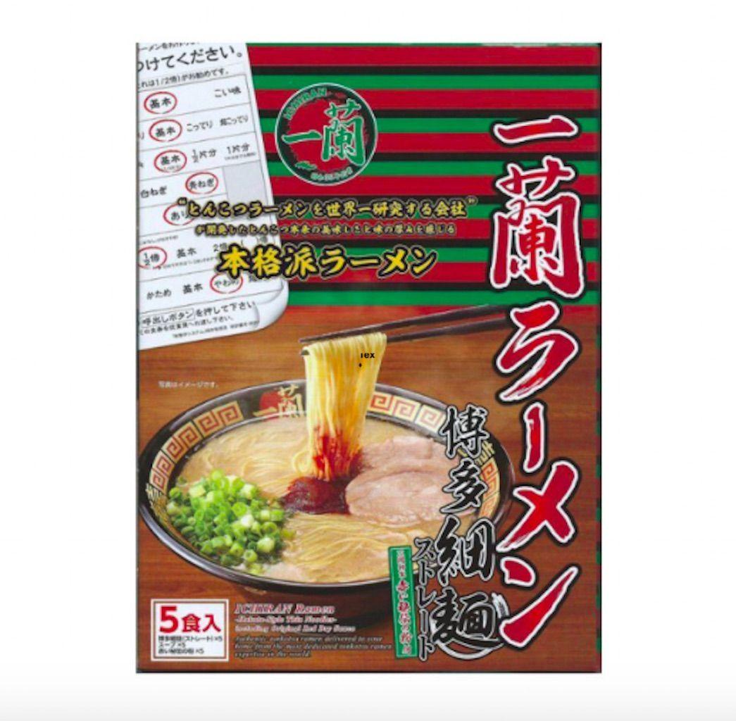 FUKUOKA ICHIRAN instant noodles