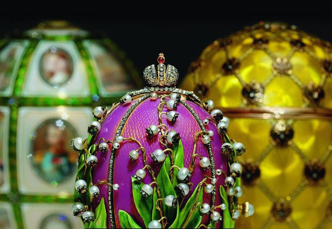 Faberge Museum in Russia
