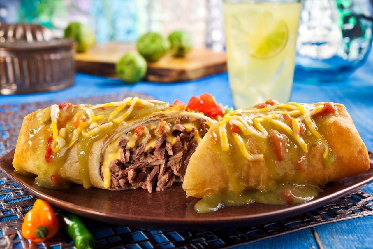 Food from Hacienda Colorado