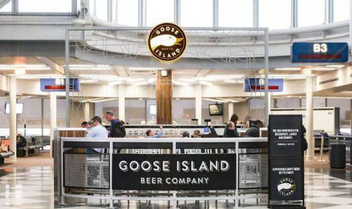 Goose Island in Chicago airport