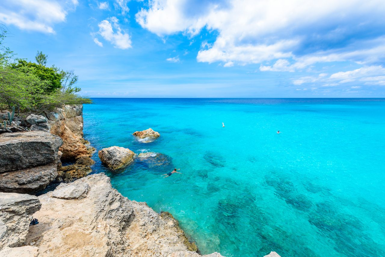 Grote Knip beach, Curacao, Netherlands Antilles