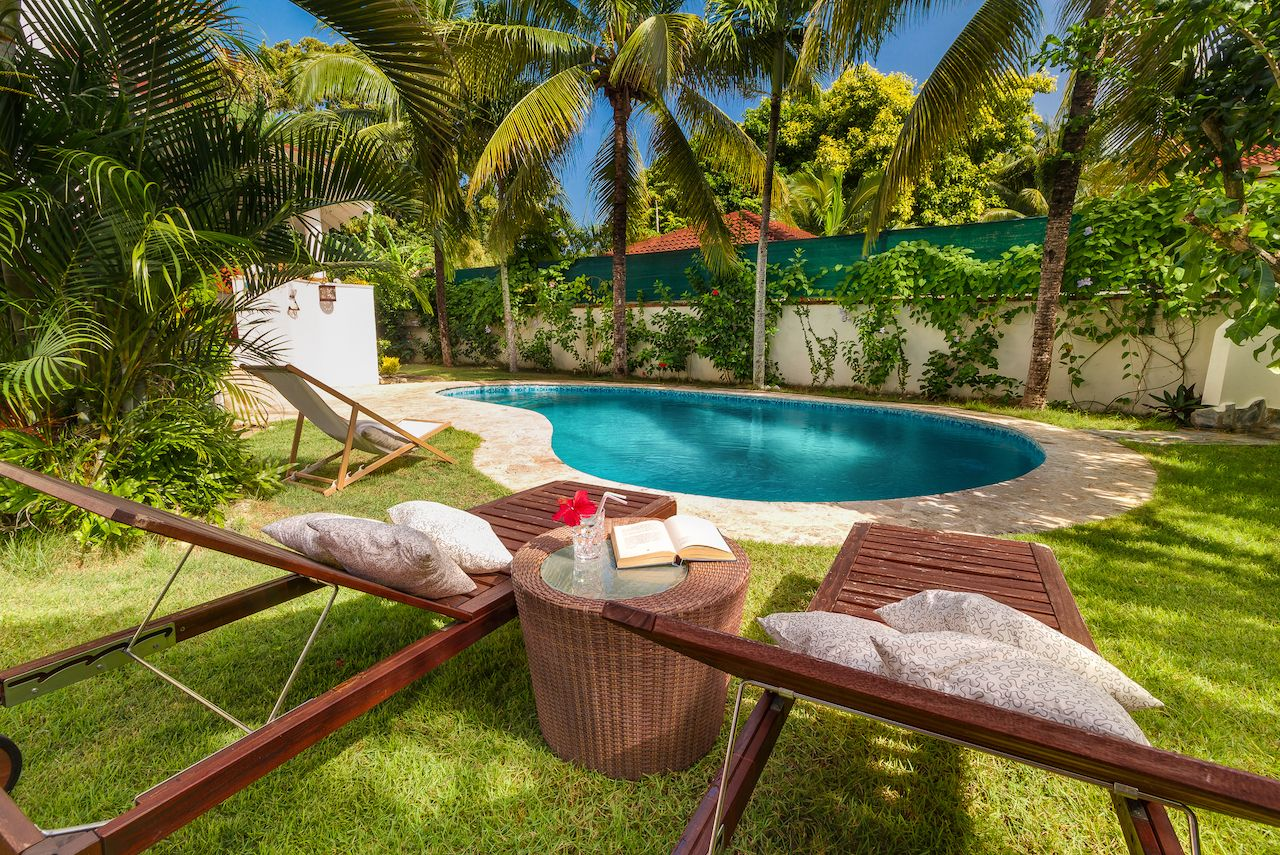 Guest house by the beach in Cabarete, Dominican Republic
