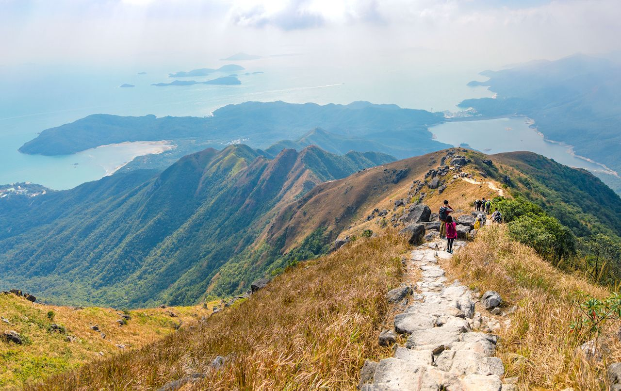 Hiking in Sai Kung, Hong Kong, Asia