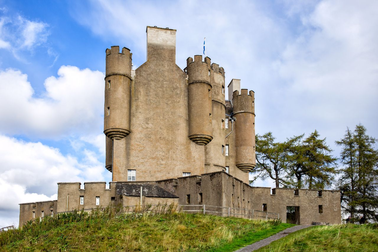 Historic Braemar Castle in Scotland