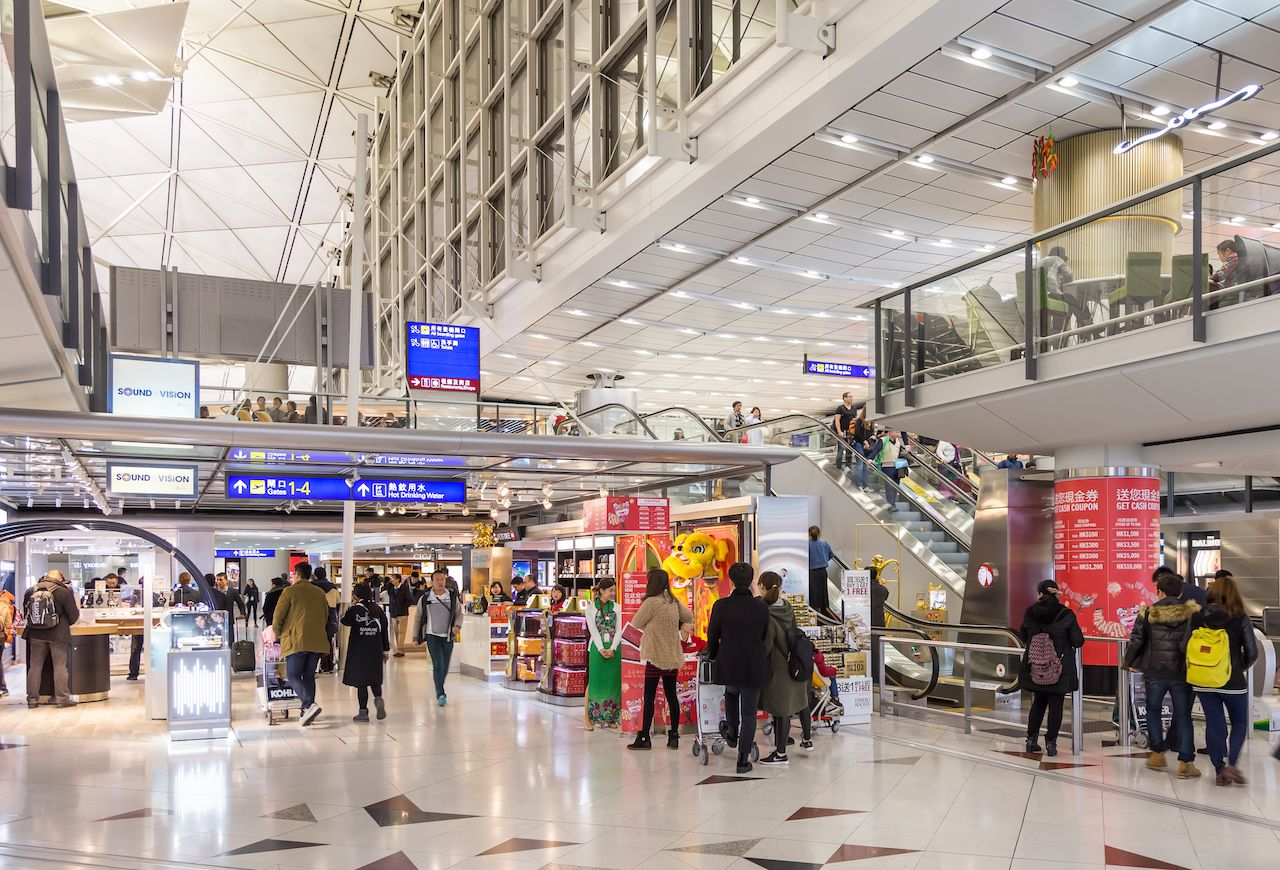 Where to eat at Hong Kong airport