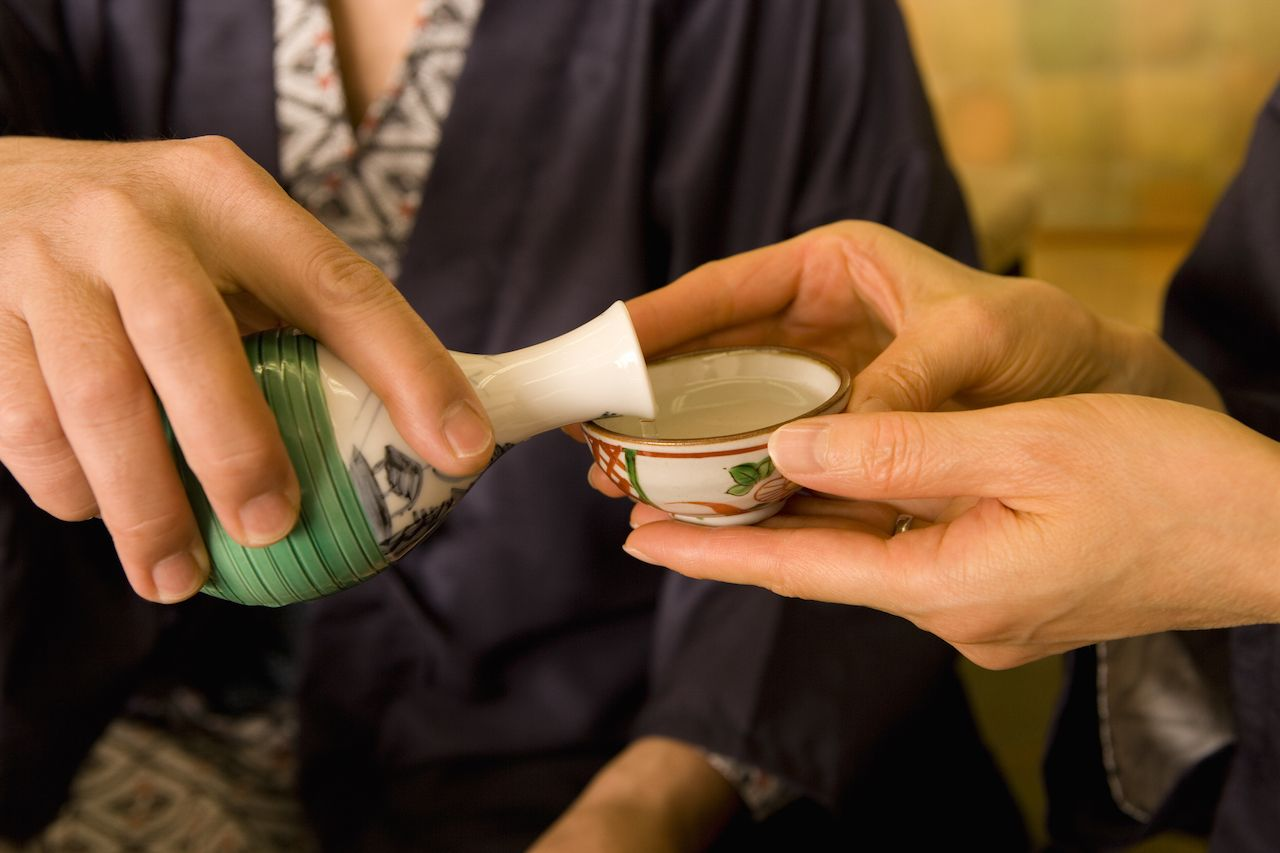 Sake etiquette and traditions