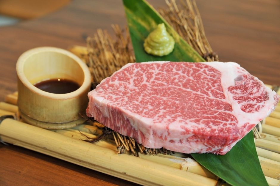 Ishigaki wagyu steak Japanese food
