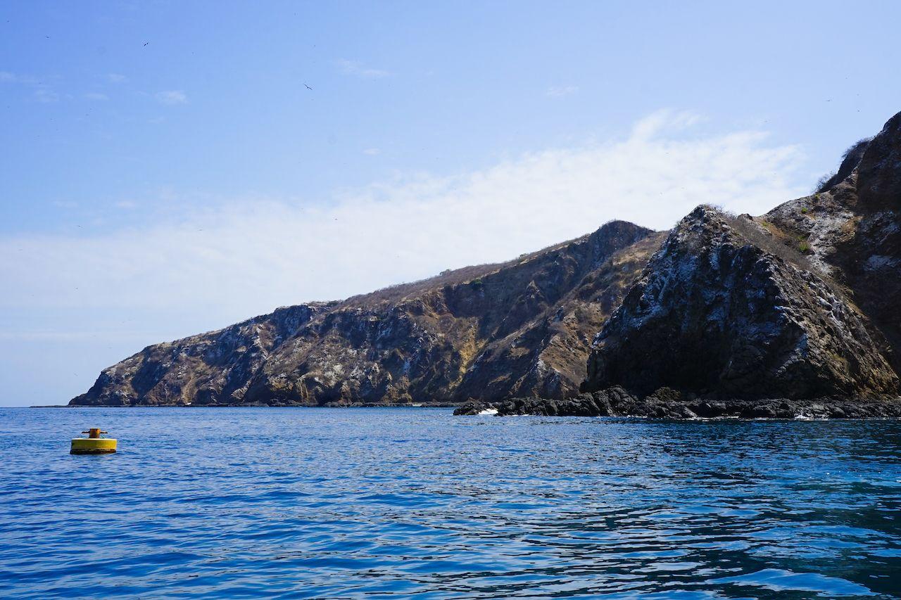 Isle de la Plata island in Ecuador