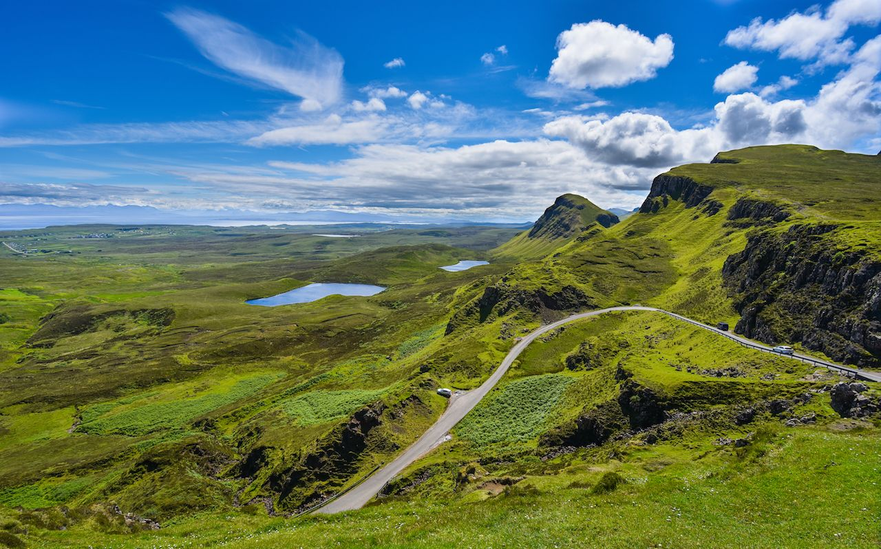 Road tripping the Scottish Highlands