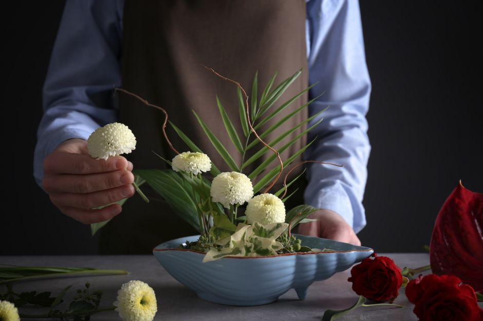 Japan flowers ikebana