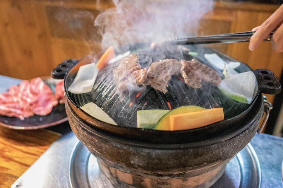 Jingisukan Japanese food