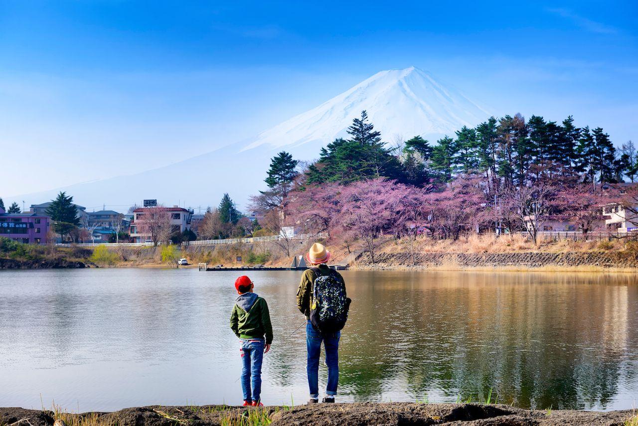 Kawaguchi lake, Japan