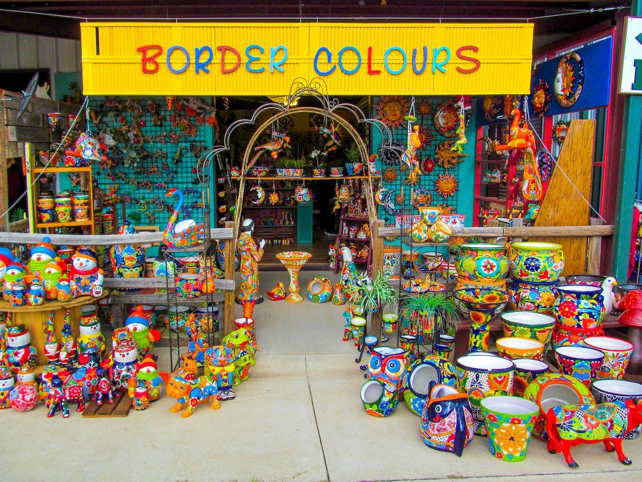 Mexican Ceramic at a Texas Flea Market