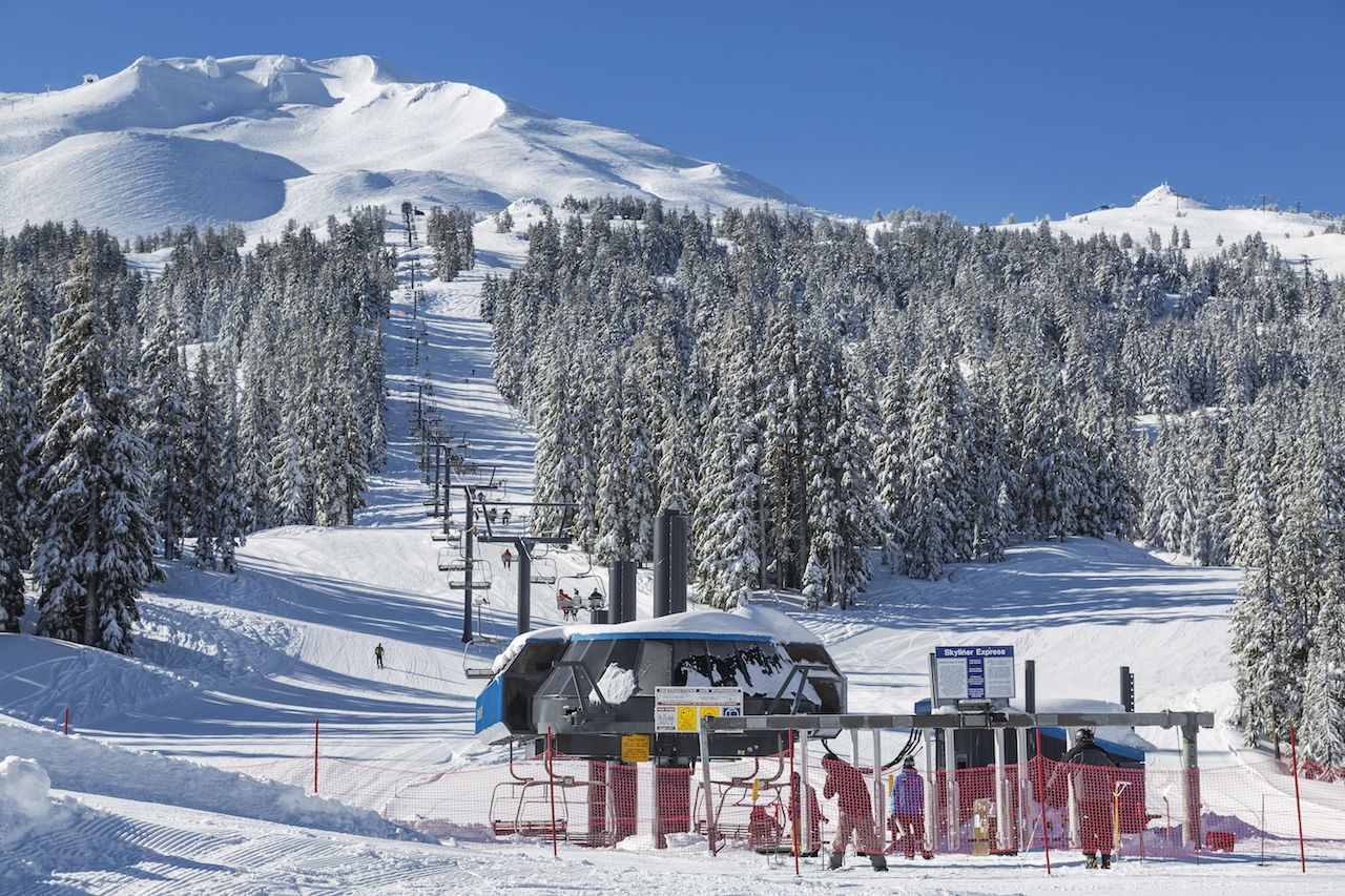 Mt Bachelor Ski Resort, Bend, OR
