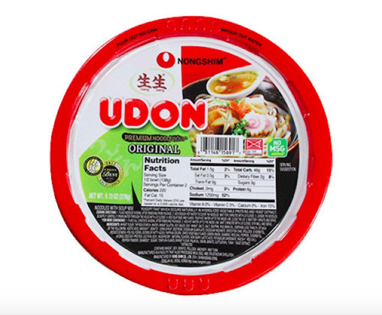 NONGSHIM instant noodles