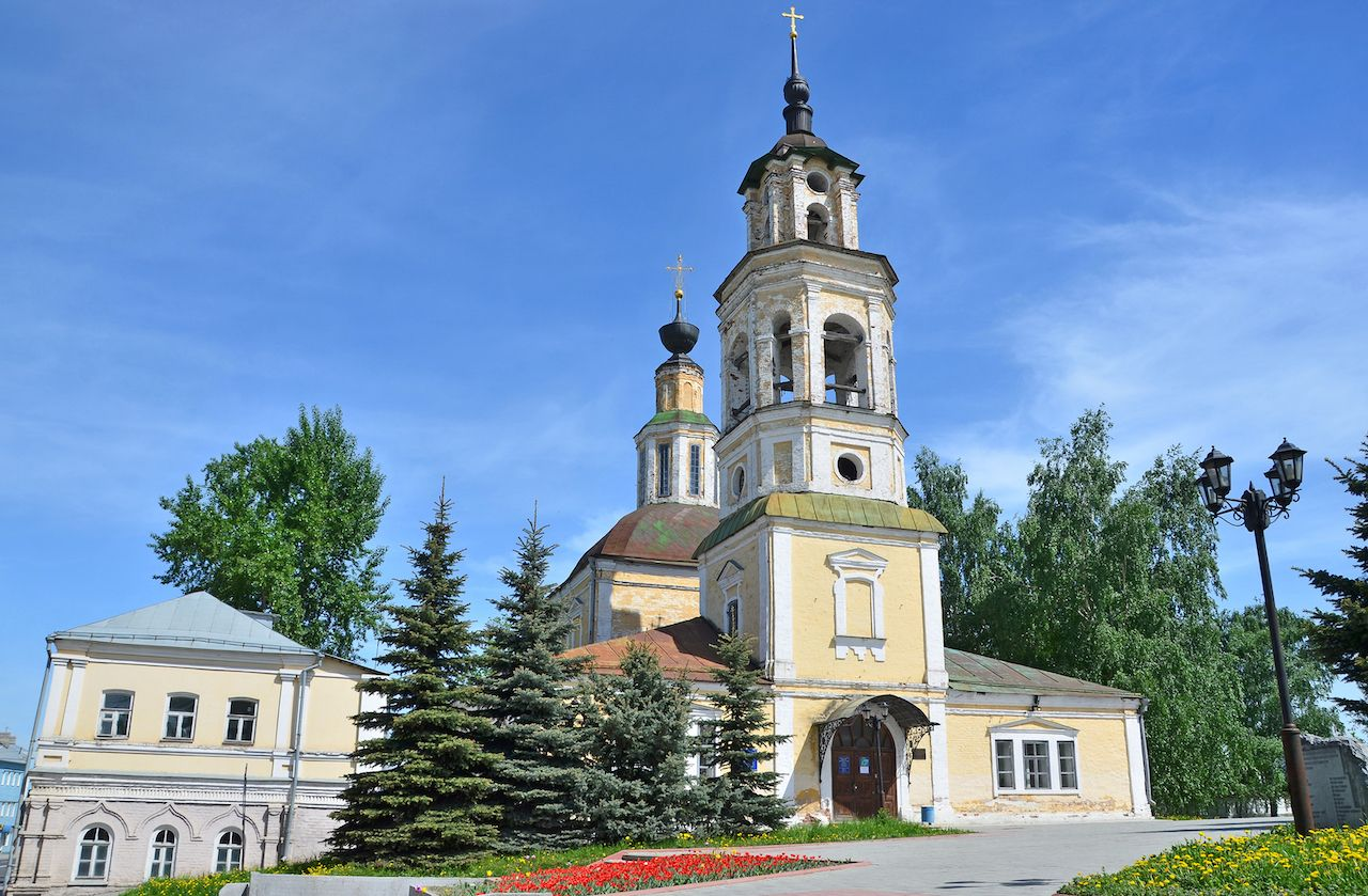 Nikolo-Kremlevskaya Church in Russia