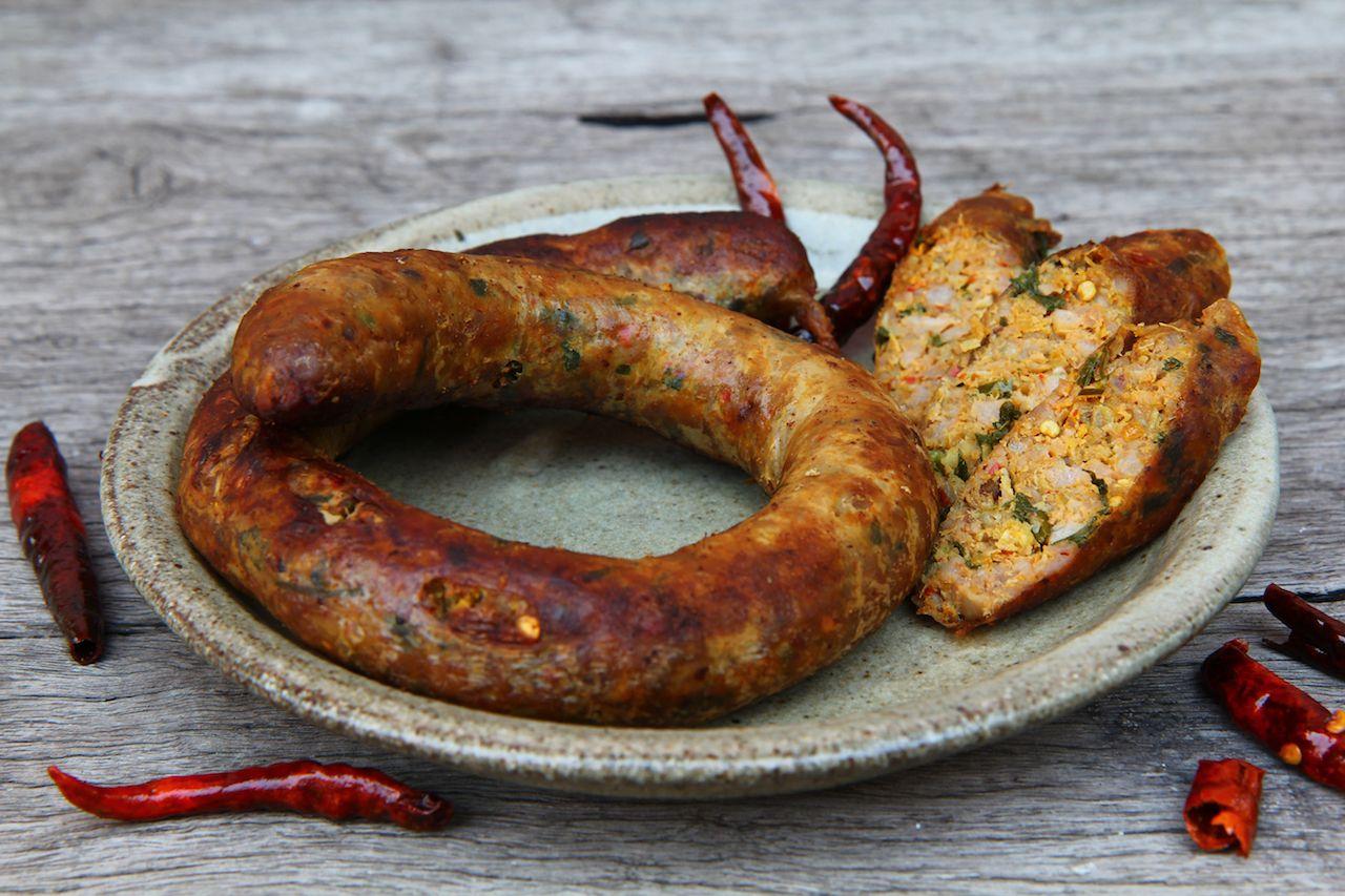 Northern Thailand sausage