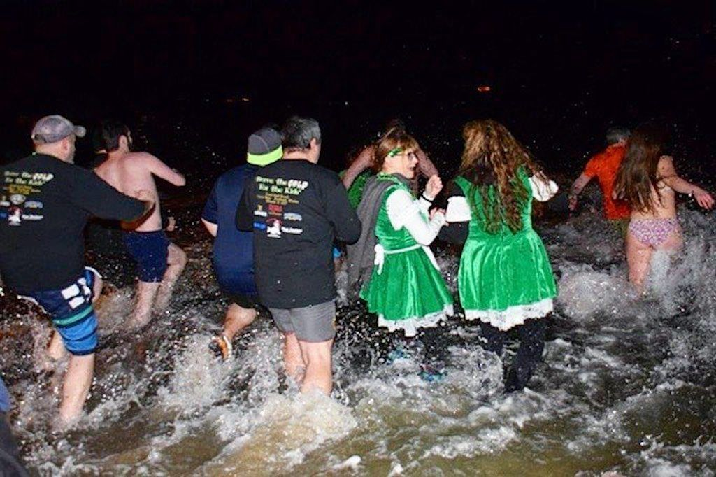 Paddy's Day Plunge in Portland, Maine