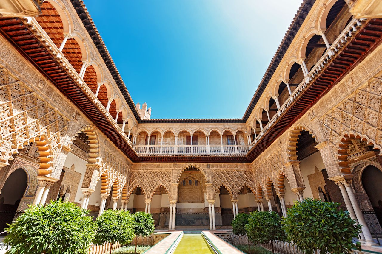 Palace of Alcazar, Seville, Spain
