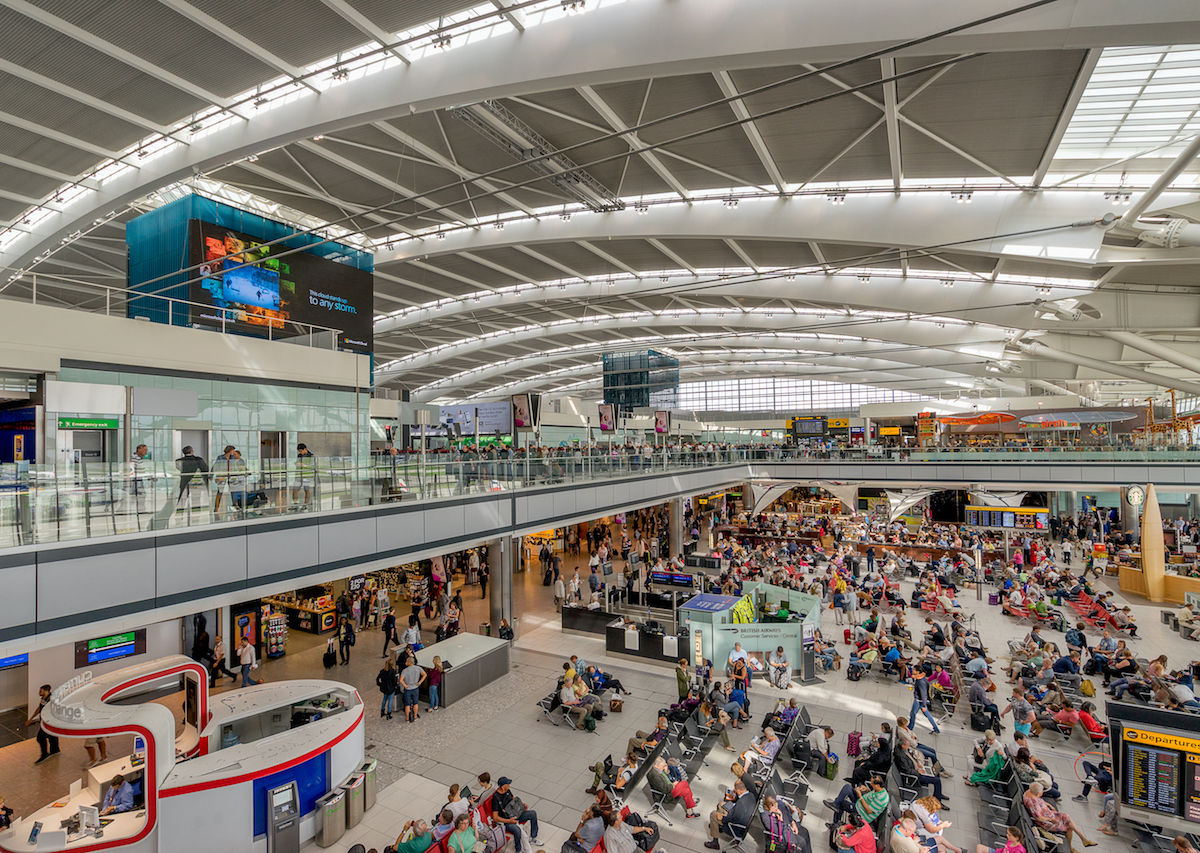 Where To Eat And Drink At Londons Heathrow International