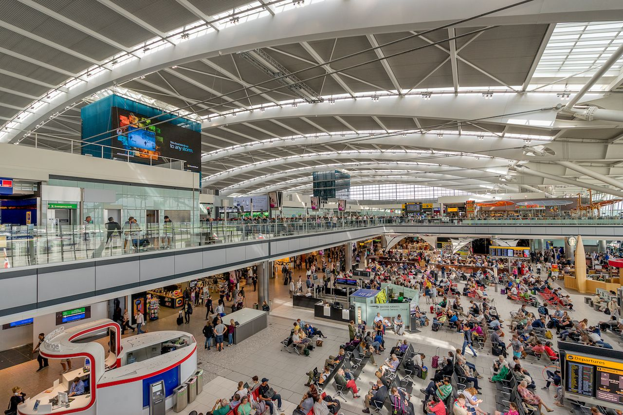 Where to eat at London Heathrow