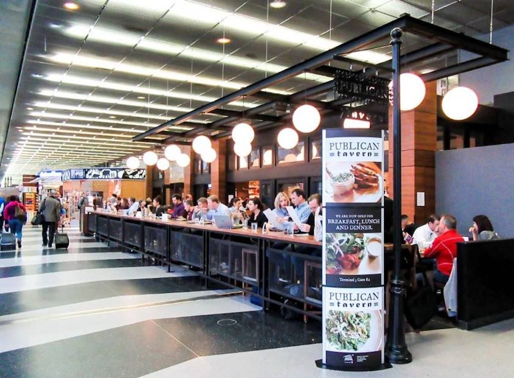 Publican Tavern at Chicago airport