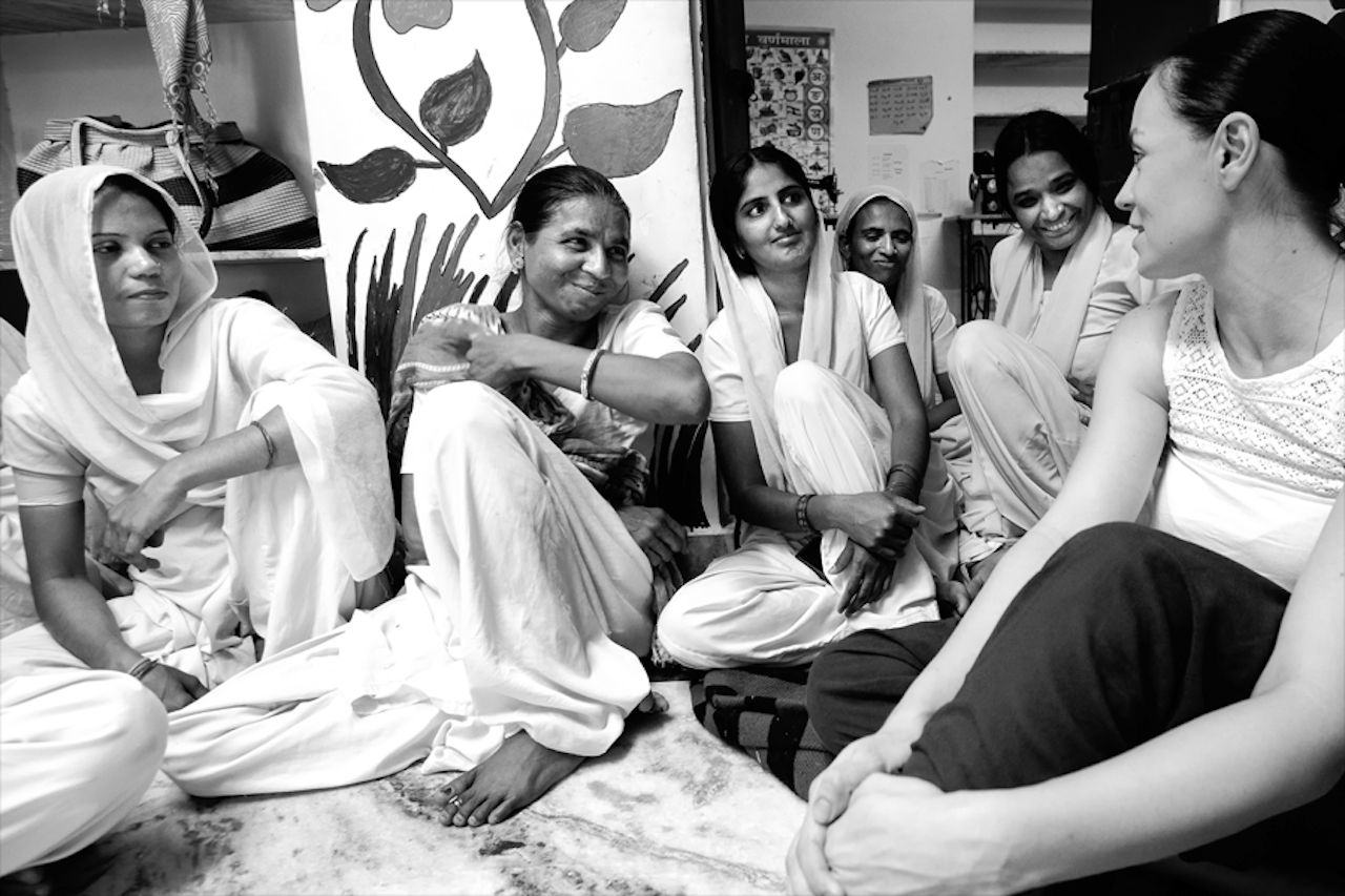 Women together in Rajasthan, India