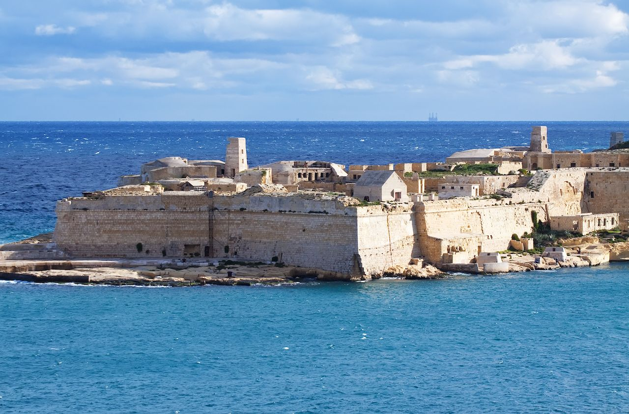 Ricasoli Fort, Malta