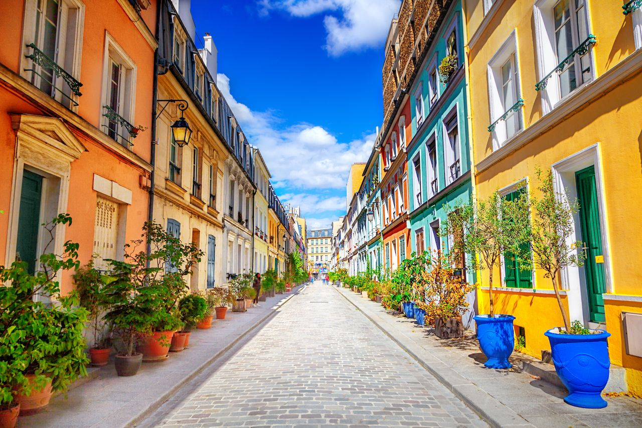 Paris' Rue Cremieux is Insta-famous