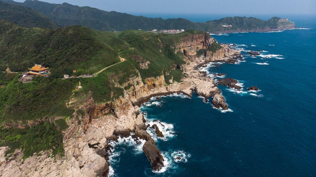 Aerial view, Taiwan