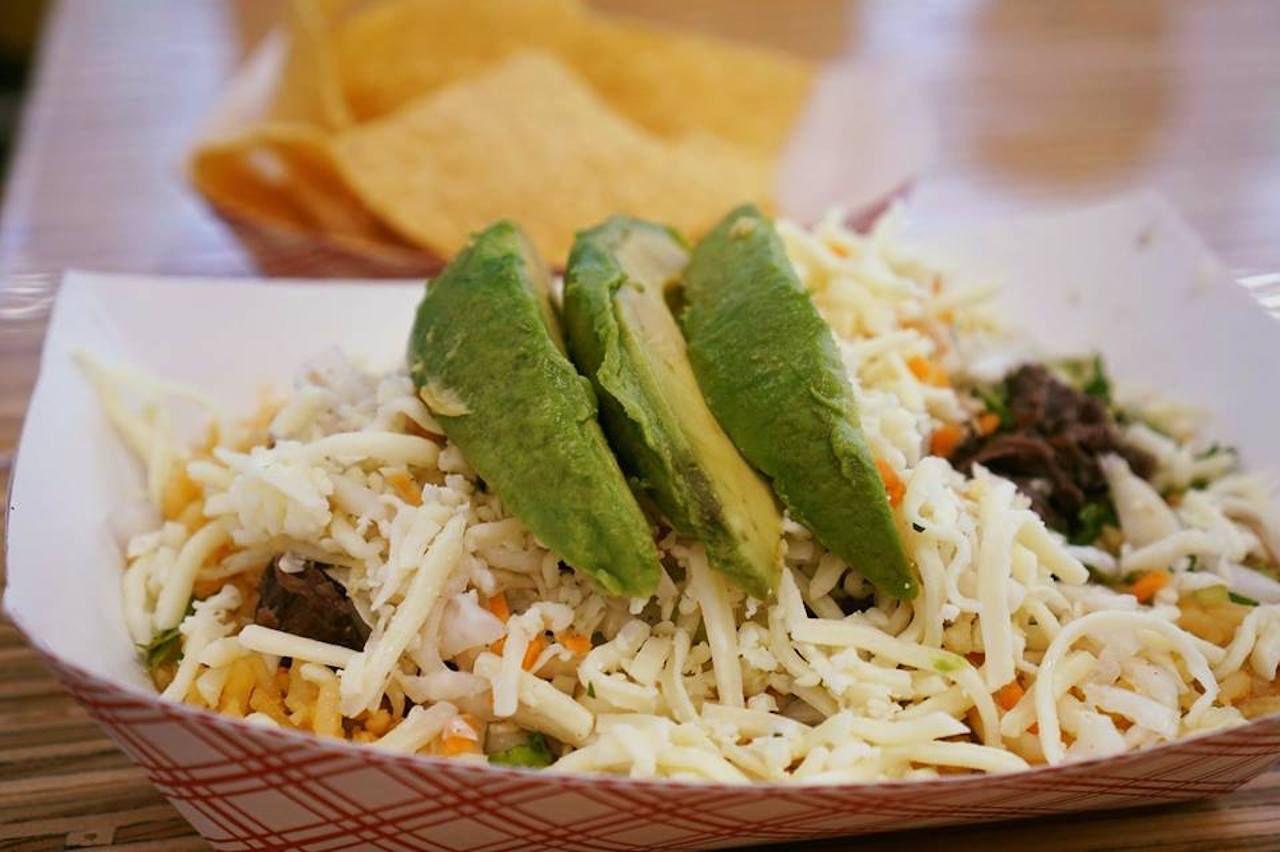 Salsa Limon avocado bowl