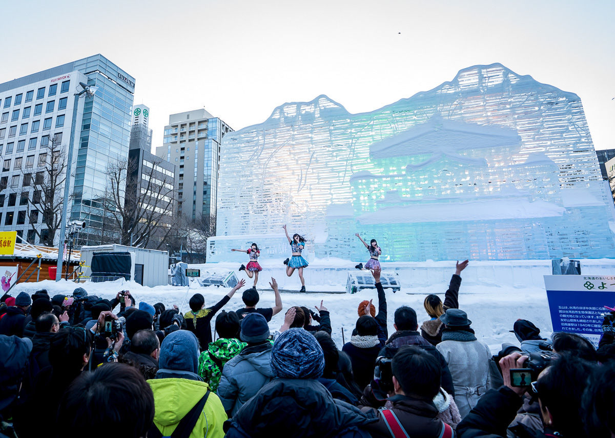 The Sapporo Snow Festival is a feast for the eyes, and you need to see it