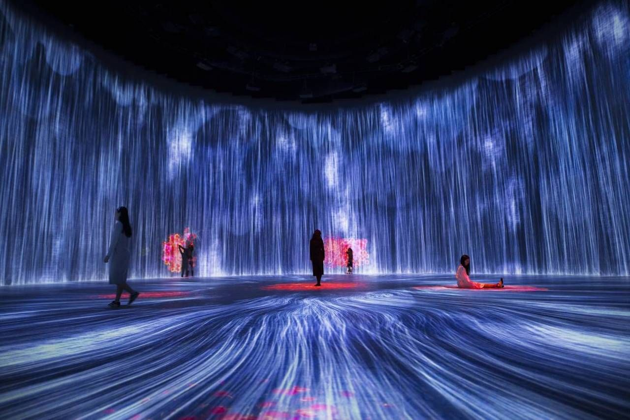 Shanghai digital art museum