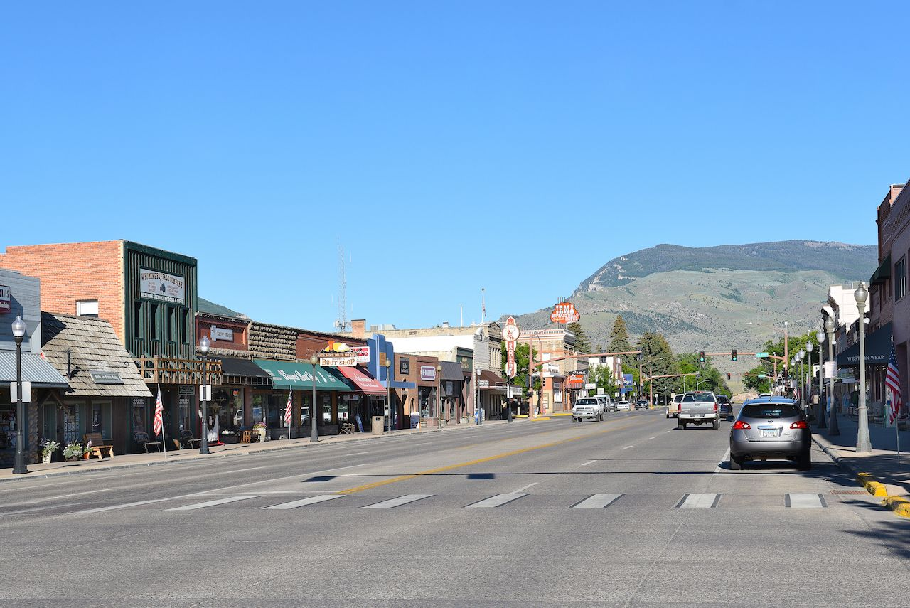 Sheridan Avenue in Cody, Wyoming