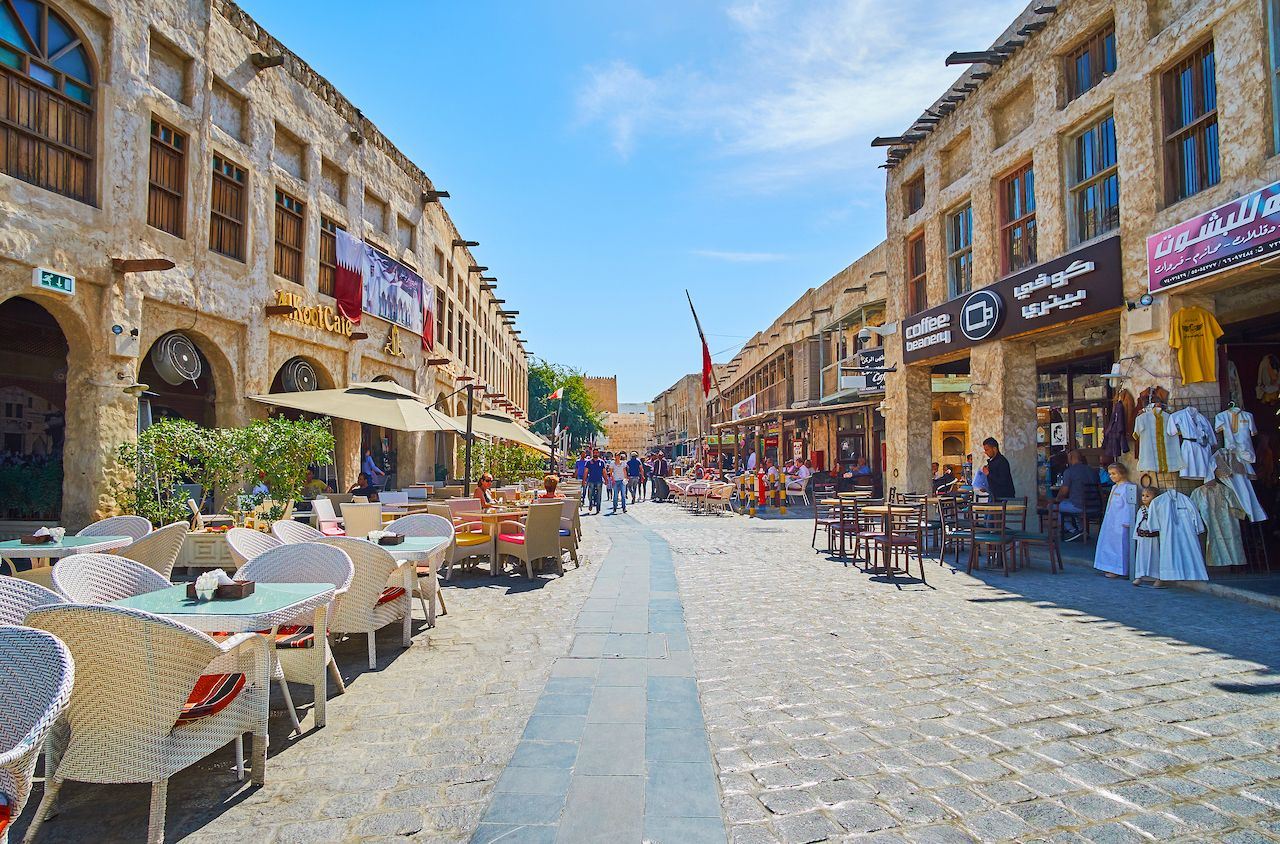 Souq Waqif neighborhood, Doha