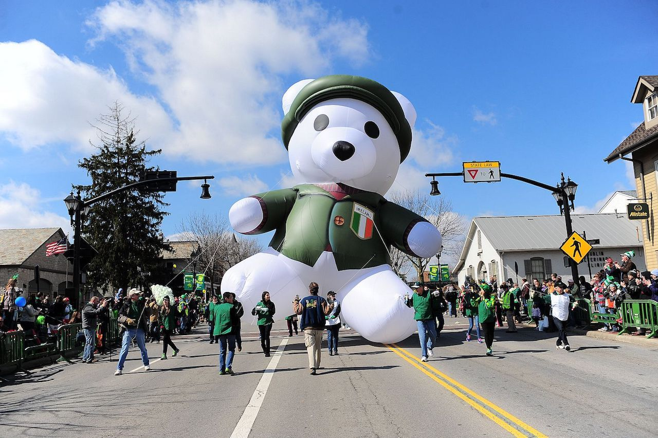St. Patrick's Day parades in the US