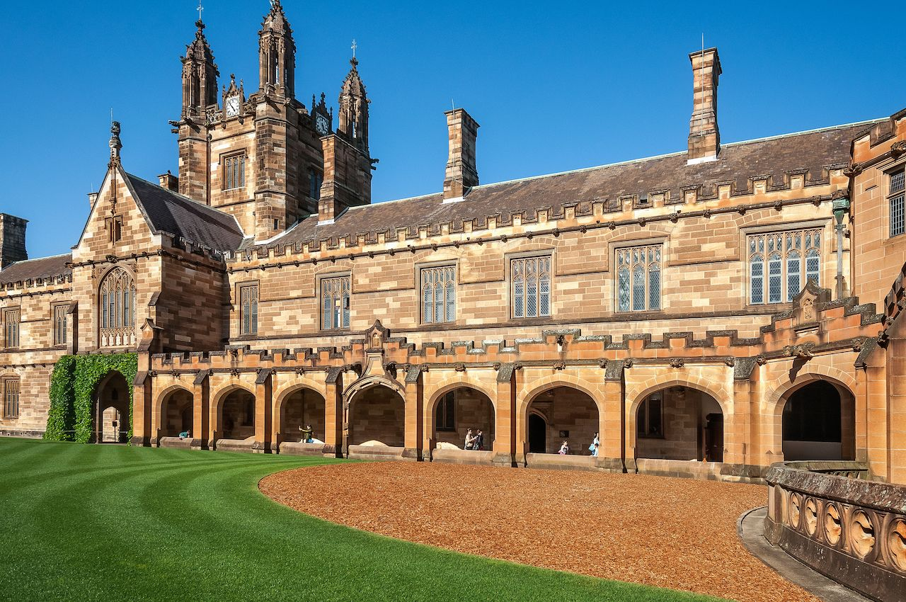 Sydney college mistaken for Hogwarts