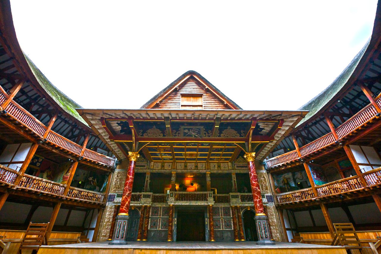 The Shakespeare's Globe Theatre in London