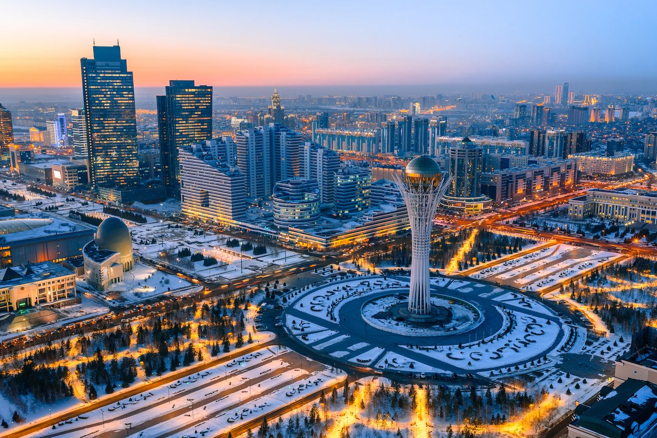 Capital of Kazakhstan renamed