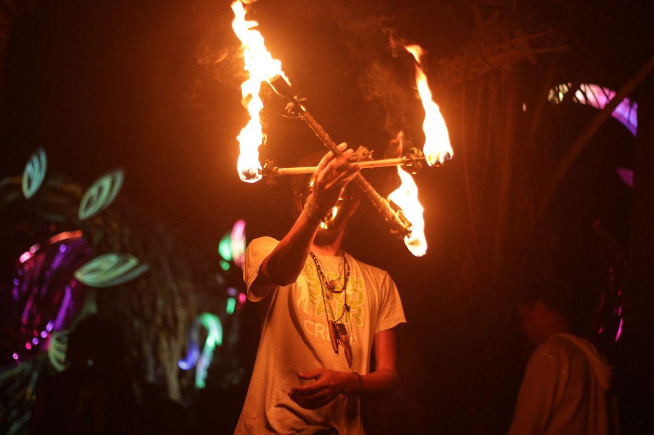 Tribal Gathering festival in Panama
