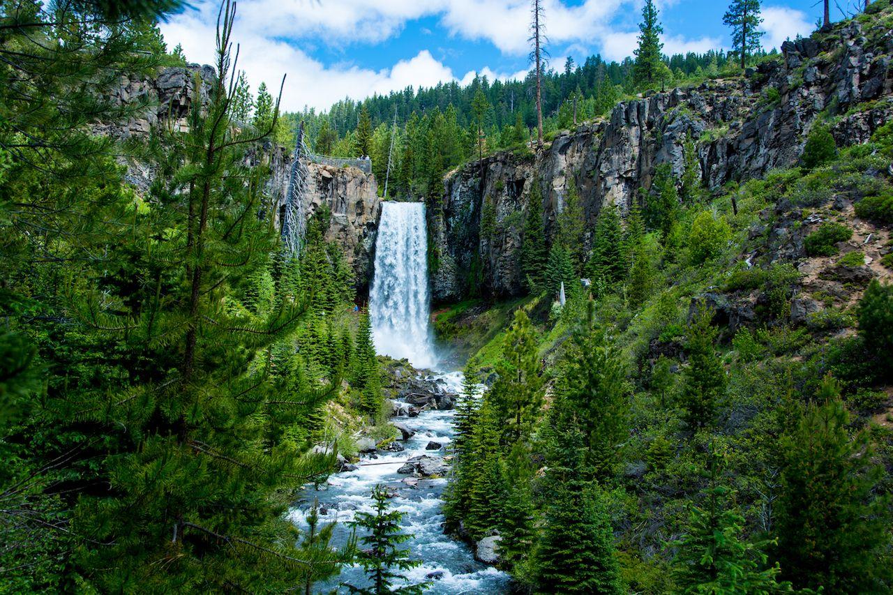 Tumalo Falls, Bend, Oregon