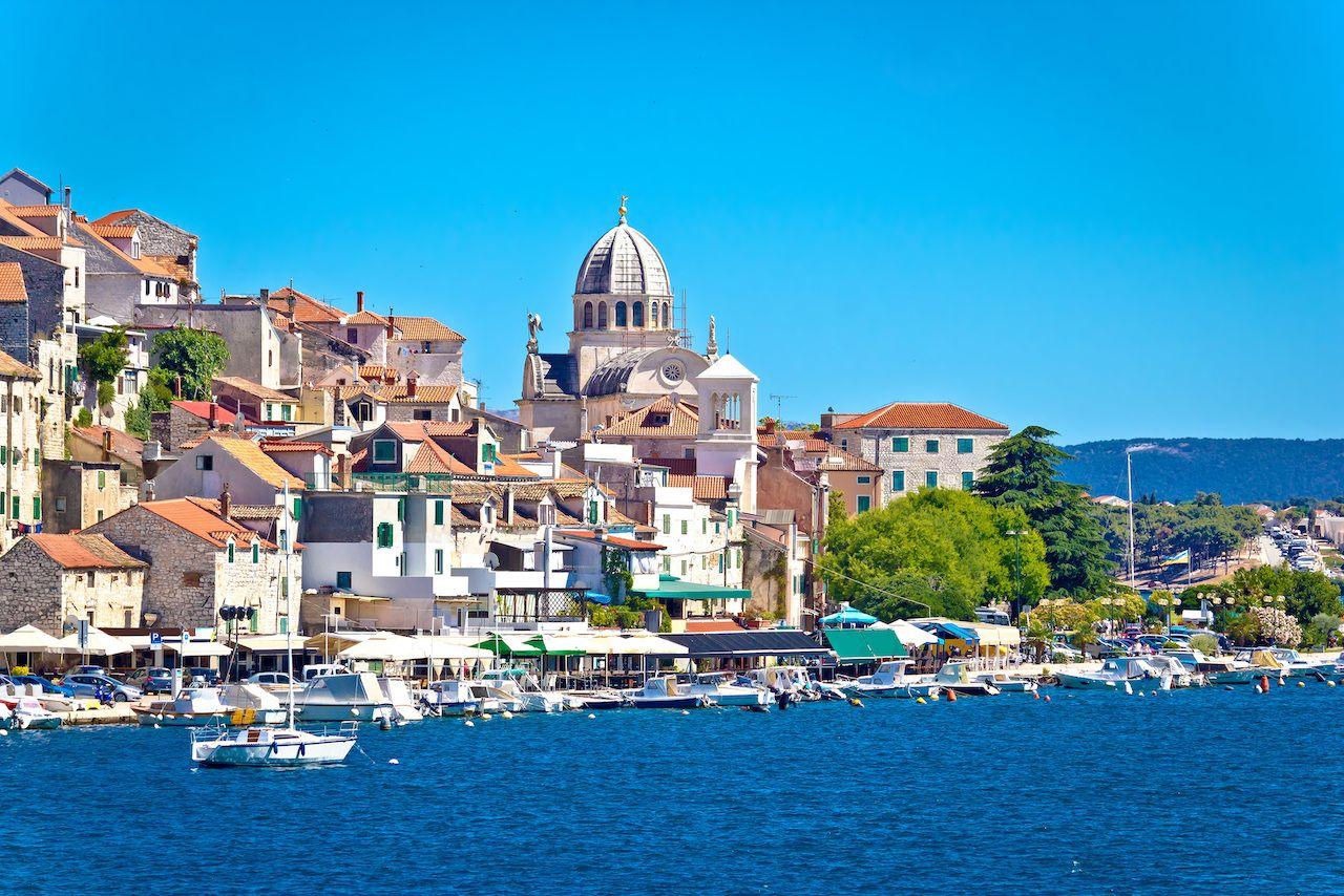 UNESCO town of Sibenik, Croatia