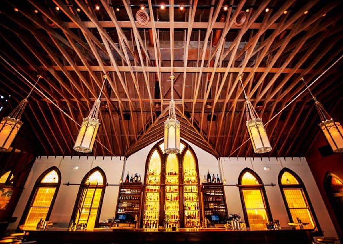 Former churches turned into bars and breweries