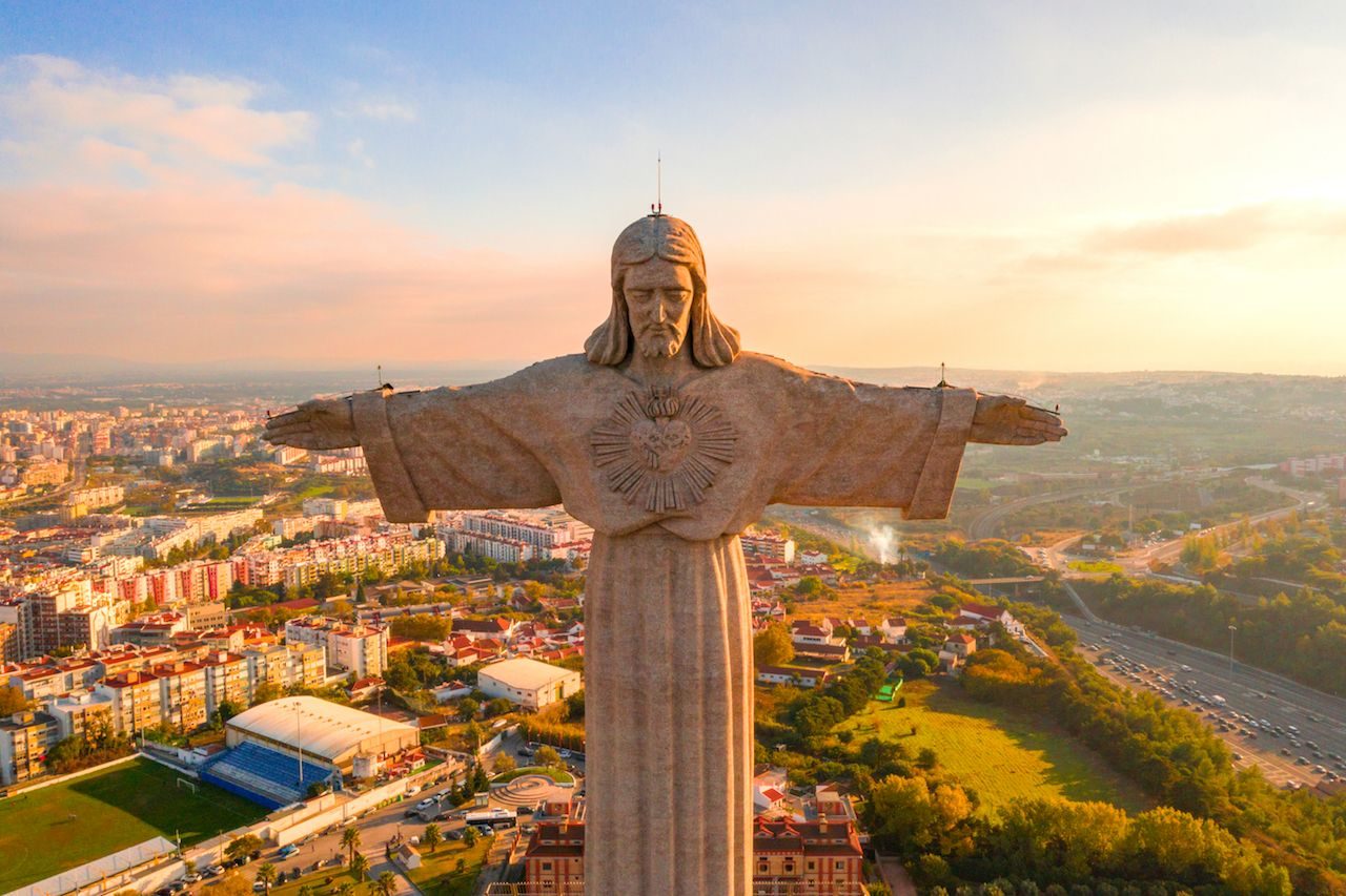 Jesus statues around the world