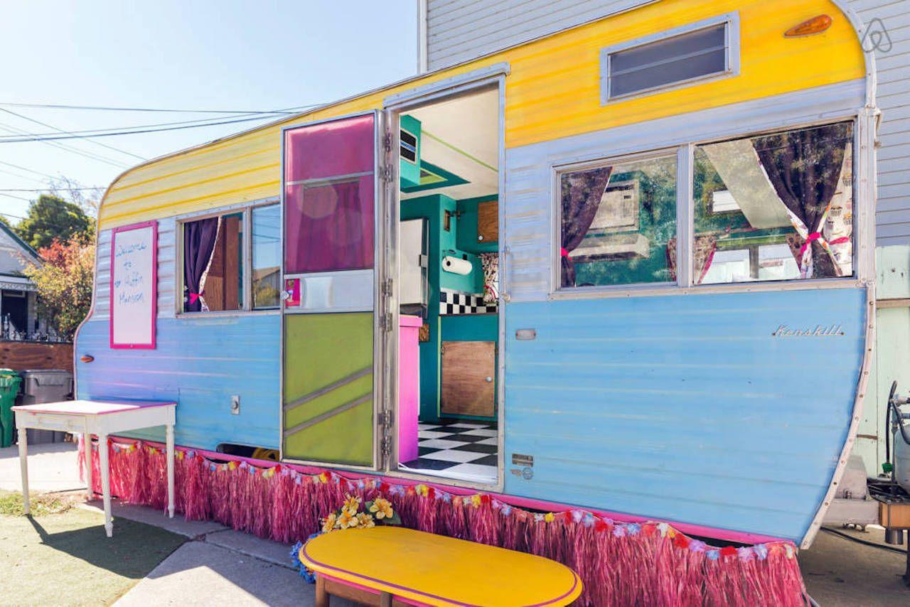 Vintage Caravan Airbnb Oakland