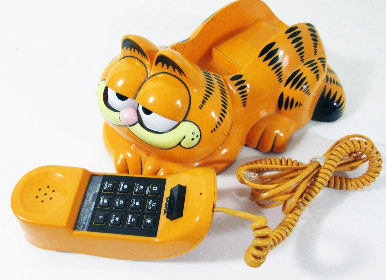 French Garfield phone mystery solved